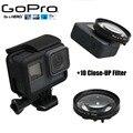 Новый Gopro 5 Аксессуары Фильтр макро + 10 Макро Объектив Протектор крышка + 52 мм Переходное Кольцо Filtors Фильтр для Go Pro Hero 5