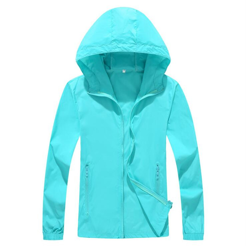 Jacket Outwear Cycling-Jerseys Autumn Summer Solid Coats Rash-Guards Hooded Normcore