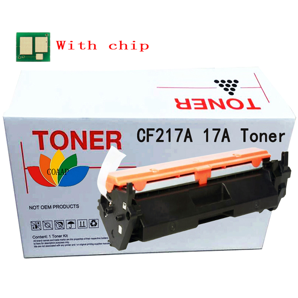 Printer LaserJet Pro MFP M130A M130FN 130 series Replacement Toner cartridge for <font><b>HP</b></font> CF217A 217A <font><b>17A</b></font> -- 1 Pack (with <font><b>chip</b></font>) image