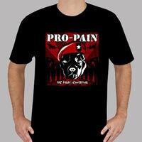 Custom T Shirts Online Premium O Neck Pro Pain The Final Revolution Rock Short Sleeve Mens