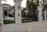 Последние железные ворота железные передние садовые ворота 4 фута железные ворота