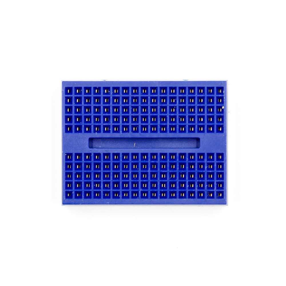 SYB-170 Mini Placa de pruebas prototipo sin soldadura 170 puntos de corbata para ATMEGA PIC para UNO