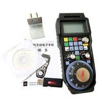 XHC NCStudio 3 оси ЧПУ маховик Беспроводной NC Studio MPG Подвеска Маховик для фрезерный станок WHB03B