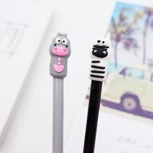 2pcs/lot kawaii Creative Cow gel pen cute stationery canetas material escolar office school Neutral supplies