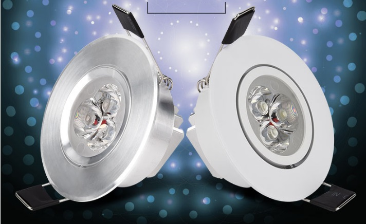 Hot Sell Led Light Dc12v 20pc/lot Downlights Energy Saving With Excellent Heatsink High Brightness Epistar