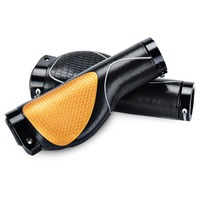 Champkey Ergonomics Comfort Design Bicycle Handlebar Grips 1 Pair Tacky Polyurethane Surface With Soft Material Cycling