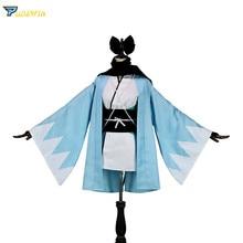 FGO Okita Souji Cosplay Sakura Saber Arturia Pendragon Grand Order Fate Stay Night Costume Fate saber Cosplay Okita Souji цена 2017