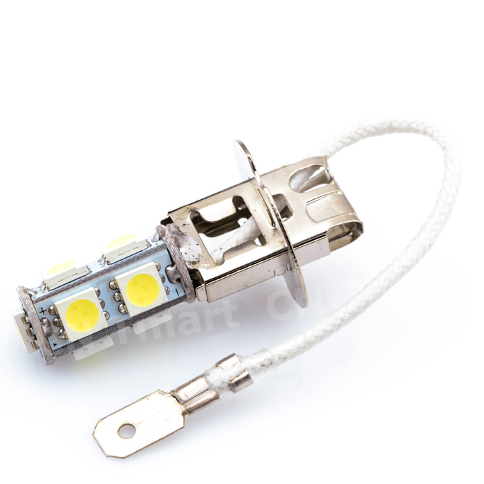 Big Promotion H3 5050 SMD 9 LED Amber Yellow Car Auto Fog Headlight Daytime Runing Head Lights Bulb Lamp DC12V forex b016 h 5050