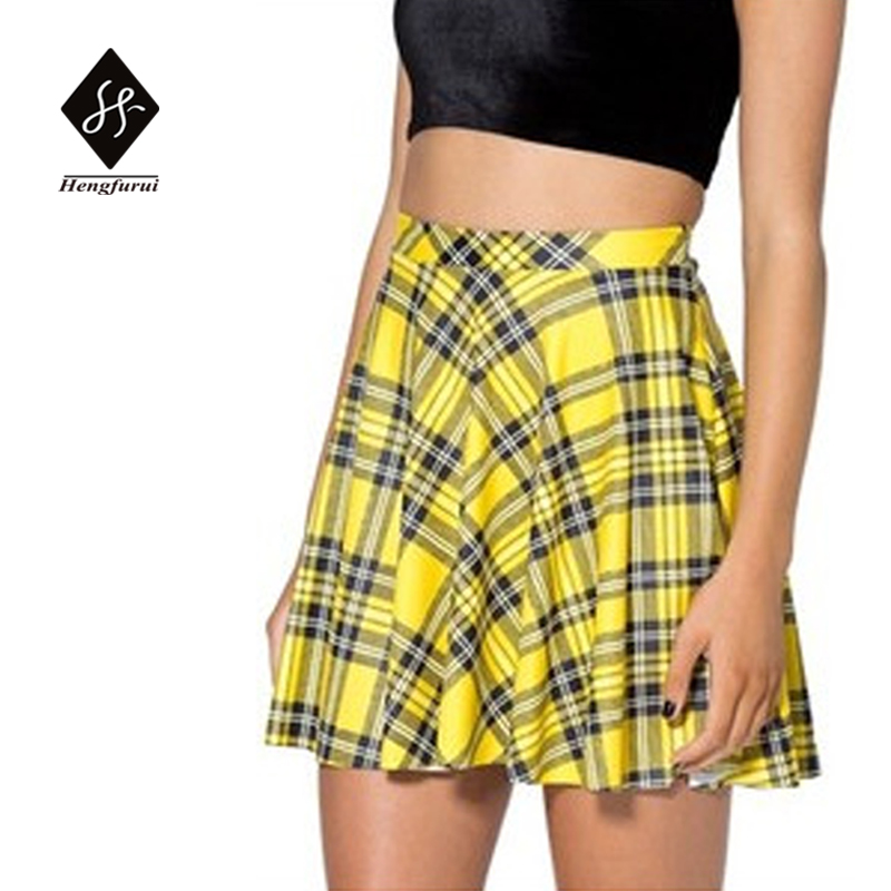 Online Get Cheap Yellow Plaid Skirt -Aliexpress.com | Alibaba Group