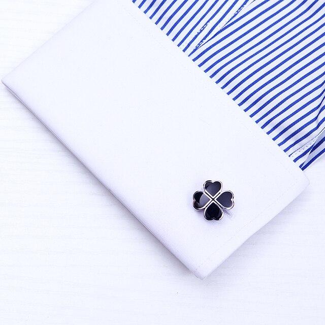Купить kflk французские запонки для рубашек мужские брендовые с черным картинки
