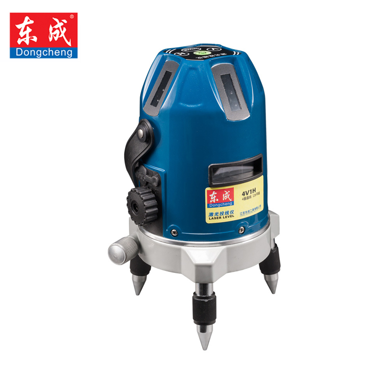 Dongcheng 2 ines 3 ines 5 Lines Horizontal Lasers Self Leveling Multipurpose Cross-Line Outdoor Tilt Mode Can be Used w/ Tripod