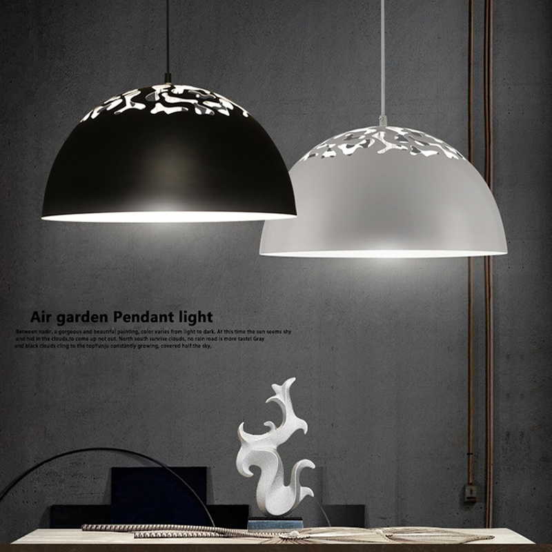 EuSolis Nordic Hollow Pendant Light Avize Lampshade Modern Lighting Hanglampen Abajur Luces Decorativas Dining Room Lights Luz цена