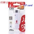 Alta velocidad de lectura directa de la cámara del lector de tarjetas CF 5 Gbps USB 3.0 CF Compact Flash Card Reader adaptador para tarjeta CF máximo 256 GB