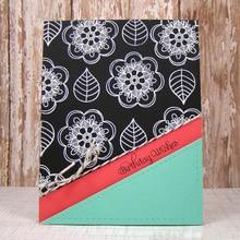 Eastshape 6PCS Three Flower Dies Metal Cutting New Decorative Embossing DIY Paper Cards Stencil Card Decoration