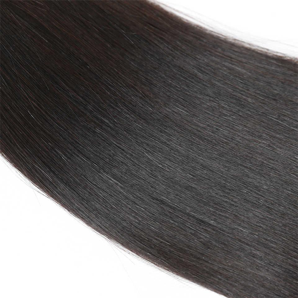 Rebecca бразильские Remy Прямые объемные человеческие волосы для плетения пучков Бесплатная Доставка от 10 до 30 дюймов Натуральные Цветные наращивания волос
