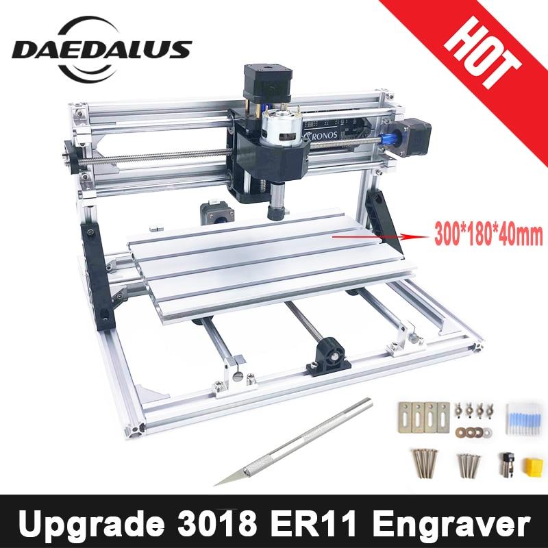 CNC3018 ER11 DIY Mini CNC Engraving Machine Pcb Milling Machine Wood Router Laser Engraving CNC Router