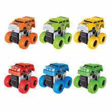 Simulation Car Toy Inertia Four-Wheel Drive Off-Road Vehicle Model Baby Boys Super Cars Blaze Truck for Children Toys Gifts F4(China)