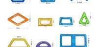 1 шт. большие размеры Magnit конструктор Сделай сам строительный кирпич части конструктор дизайнер магнит модели развивающие игрушки magbrother