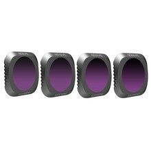 DJI Мавик 2 про-объектив фильтр Mavic Камера фильтр объектива Комплект ND8-PL ND16-PL ND32-PL ND64-PL фильтр для DJI Мавик 2 Pro Комплект из 4 предметов