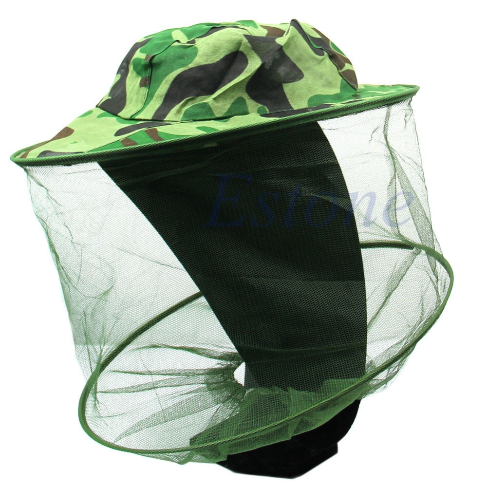 Insect Bee Mosquito Resistance Bug Net Mesh Head Face Protector Fishing Cap font b Sun b