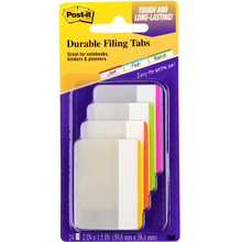 Plastic sticky notes stickers durable paste times archived labels classified files classified labels 3M post it 686F-1BB