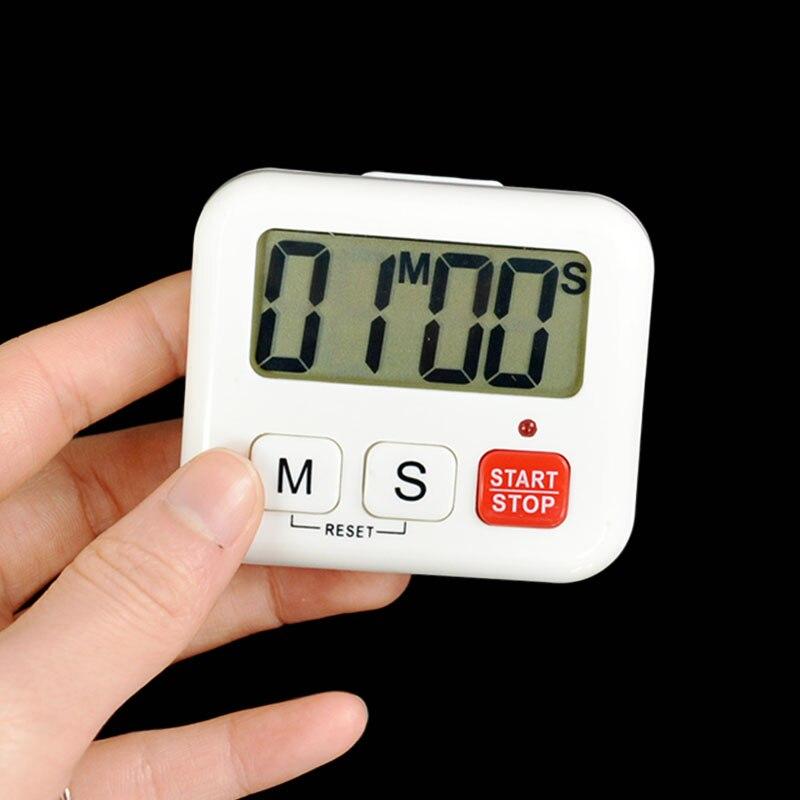1pcs digital lcd timer kitchen cooking clock sport countdown 99