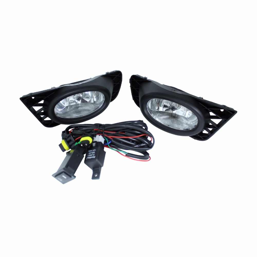 small resolution of for honda civic 4 door 2009 2011 car styling car drl lamp front bumper grilles