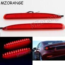 цена на 2X 24 LED Car Rear Bumper Reflector Brake Stop Running Light For Mazda 6 03-08 For Mazda6 Atenza Sport Mazdaspeed