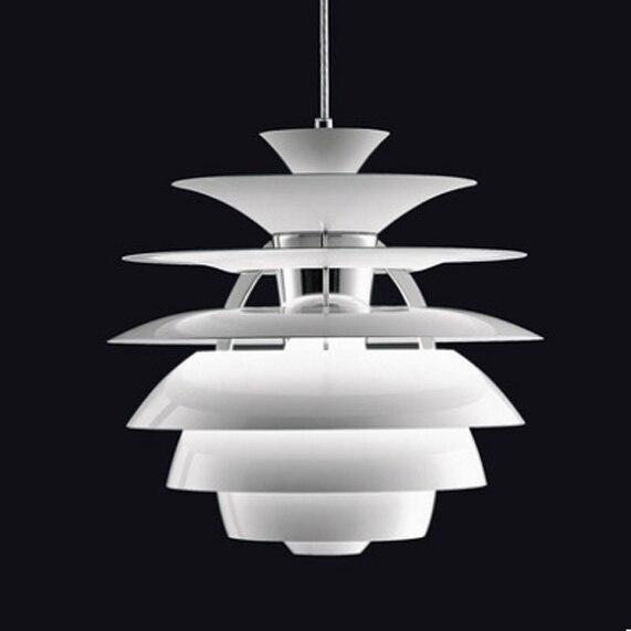Nórdico moderno Branco Snowball Pingente Luzes de Fixação de Alumínio Droplights D40cm AC90V-260V lâmpada do Quarto Da Cama Sala de Jantar Restaurante Lâmpadas