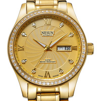 Swiss Brand NESUN Men's Watch Automatic Self-winding