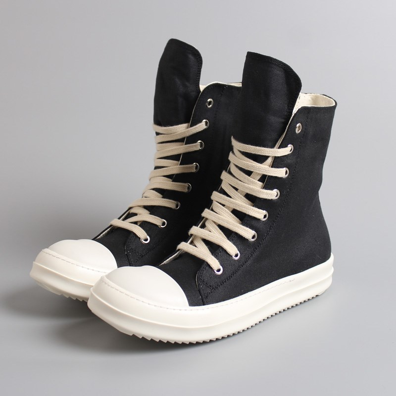 Balck Hip 46 Black Masculino Chaussures Rétro Sneakers Hop Casual Fermeture Taille Mens Panier Plate Leather À 35 Sapato Top High canvas Tenis Amoureux forme Glissière wSOEzqB5z