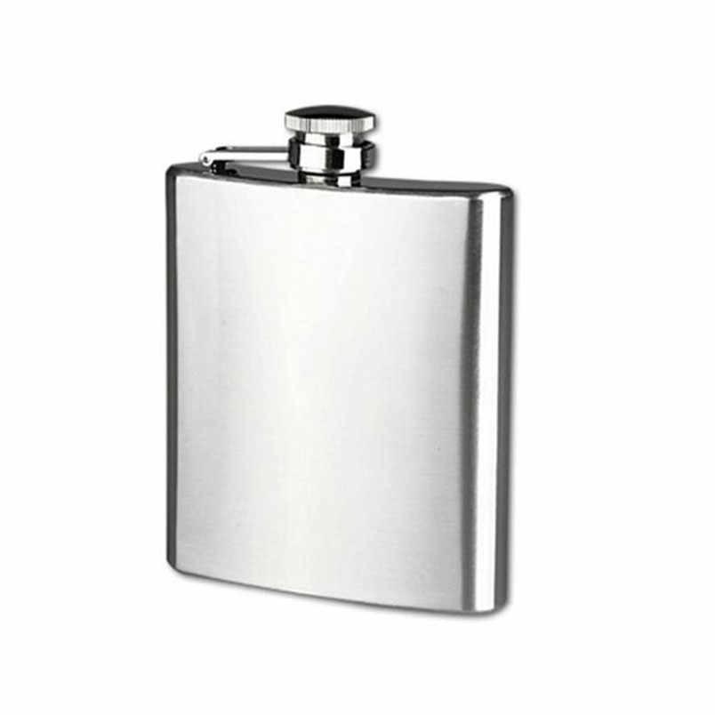 高 Qulity のステンレス鋼ポケットヒップフラスコアルコールウイスキー酒スクリューキャップホット 4/5/6/7 /8/9/10/18 オンスフラスコ 2019 ホット販売 & s