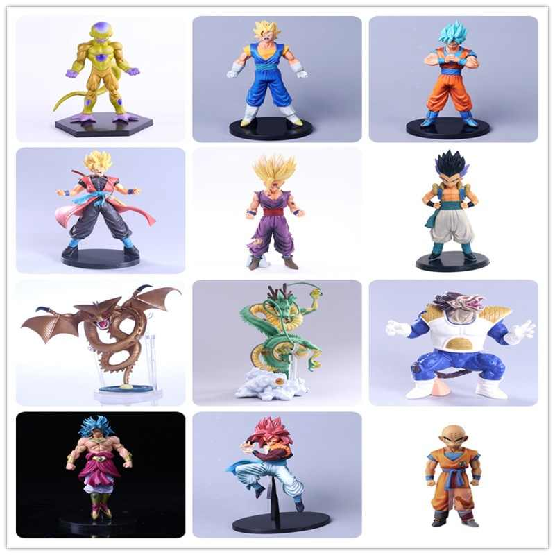 Hot Anime Dragon Ball Z Bardock Ressurreição F Super Saiyan Goku PVC Action Figure Collectible Modelo Toy Boneca 23 cm Com Caixa