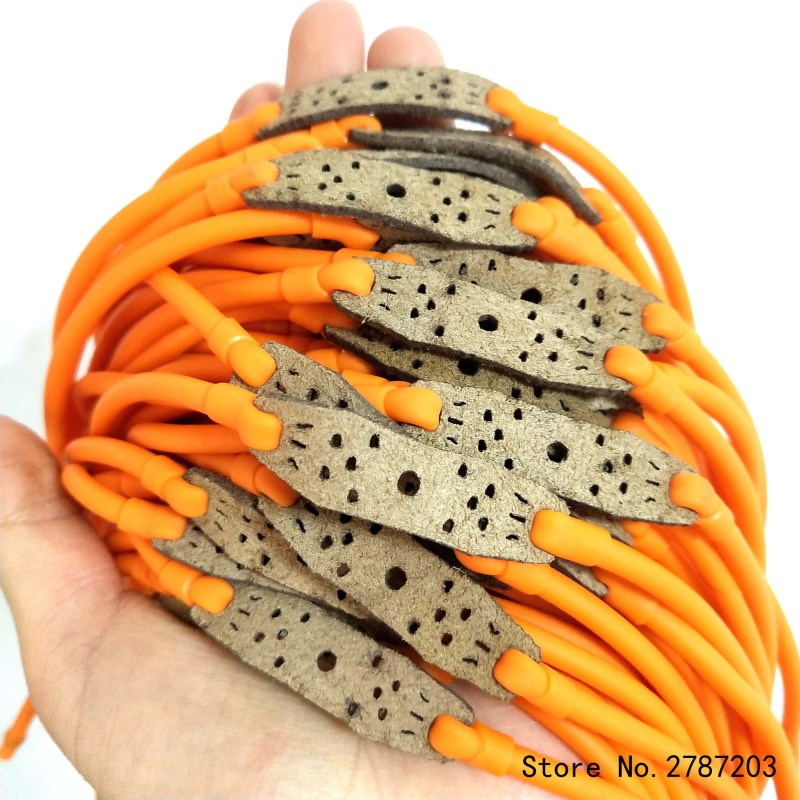 Precise Outdoor Hunting1pcs/lot  Velocity Elastic Elastica Bungee Rubber Band For Slingshot Catapult