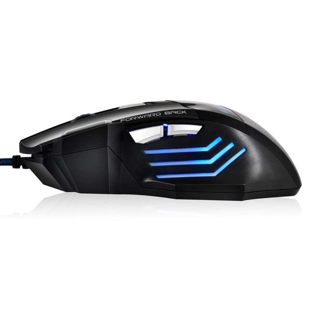 Professional Wired Gaming Mouse x7 Button 5500 DPI LED Optical