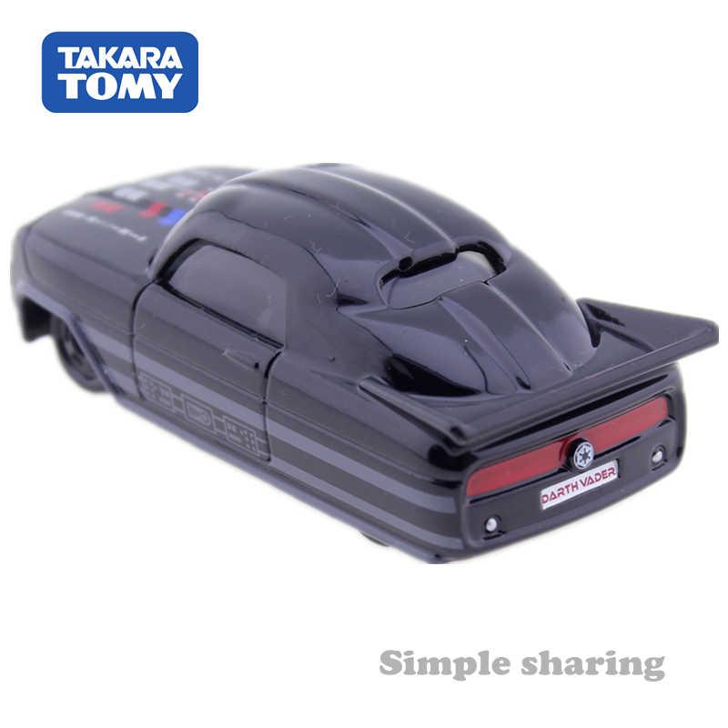 TAKARA TOMY Tomica Premium Bintang Disney Mobil SC01 Darth Vader Roadster Mainan Mobil Diecast Miniatur Model Kit Lucu Bayi Ajaib mainan