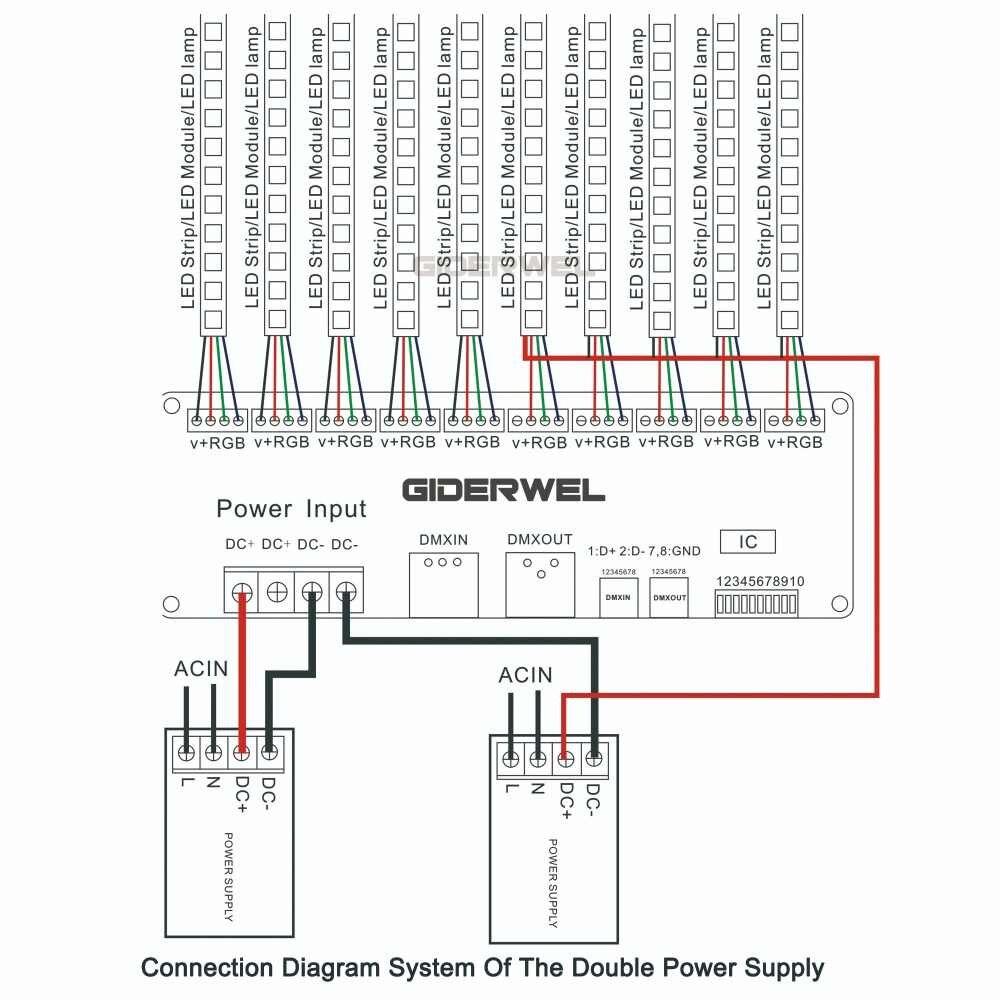 2 шт. в комплекте 30 канала декодер RGB & затемнения светодиодный драйвер 60A полосные осветители для DMX512 контроллер вход DC9-24V