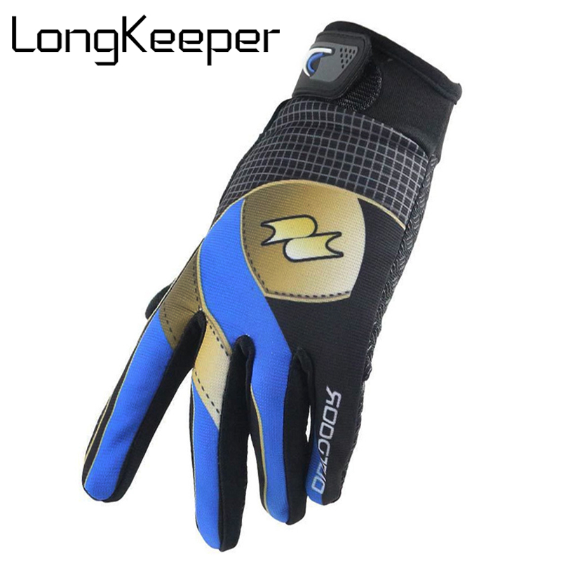 LongKeeper Men Brand Touched Screen Gloves High Elasticity Unisex Mittens Winter Women Gloves Red Blue Green Christmas Gift