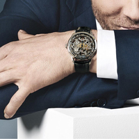 AGELOCER Original - Swiss Brand Watch Mens Watch - Mechanical Design - Skeleton Watch 3