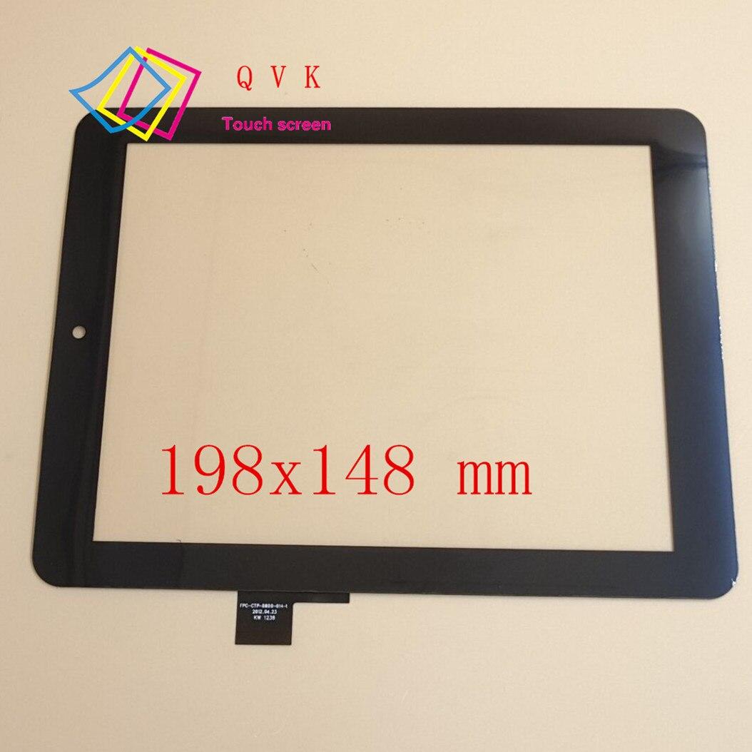 20 шт F0264 XDY F0264X KDX FPC-CTP-0800-014-2 планшет с сенсорным экраном для записи планшета размер и цвет