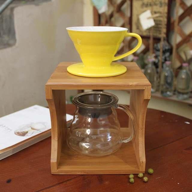 Aliexpress.com : Buy Slow Drip Coffee Maker gift sets : V 60 coffee dripper + glass server ...
