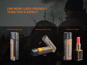 Image 4 - Fenix KIT de carga de ARE X11, cargador de batería inteligente, 5V, salida USB, ARB L18 3500 de batería inteligente