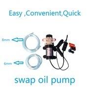 Professionnel Électrique 12 V Pompe À huile Diesel D'huile Moteur pour Extraire l'huile de Carburant pompe De Transfert Livraison gratuite