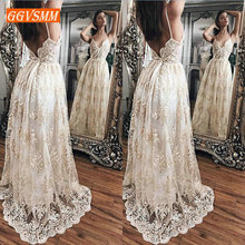 Luxury Lace Long Party Dresses Evening 2019 Bohemian Evening Gown Casual Sleeveless Sexy Backless Women Banquet Maxi Dress Prom