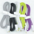 Orange/ gray/ pink/ green/blue/ black/ purple/white 1.8A High Quality 120cm Magnet Charger Sync Data Micro USB Cable