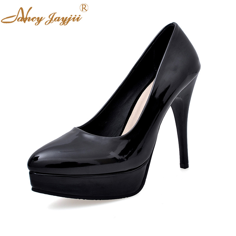 Ladies Pumps Black Spring Autumn Summer Shoes Woman Thin -5213