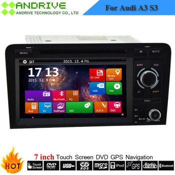 7 inch Special Car Multimedia Player For Audi A3 S3 2003-2012 Year Autoradio With GPS Navigation System Stereo Head Unit Radio image