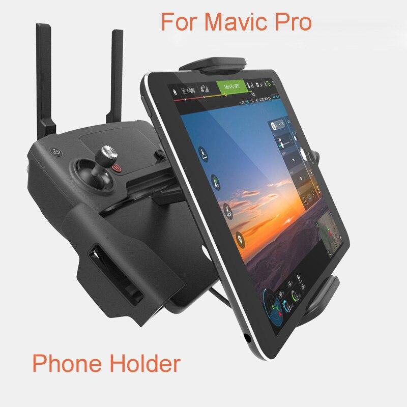 Rc Drone Accessoriess For DJI Mavic Pro Drone 7-10 Pad Moblie Phone Holder Alumunim Flat Bracket tablet Stander Parts