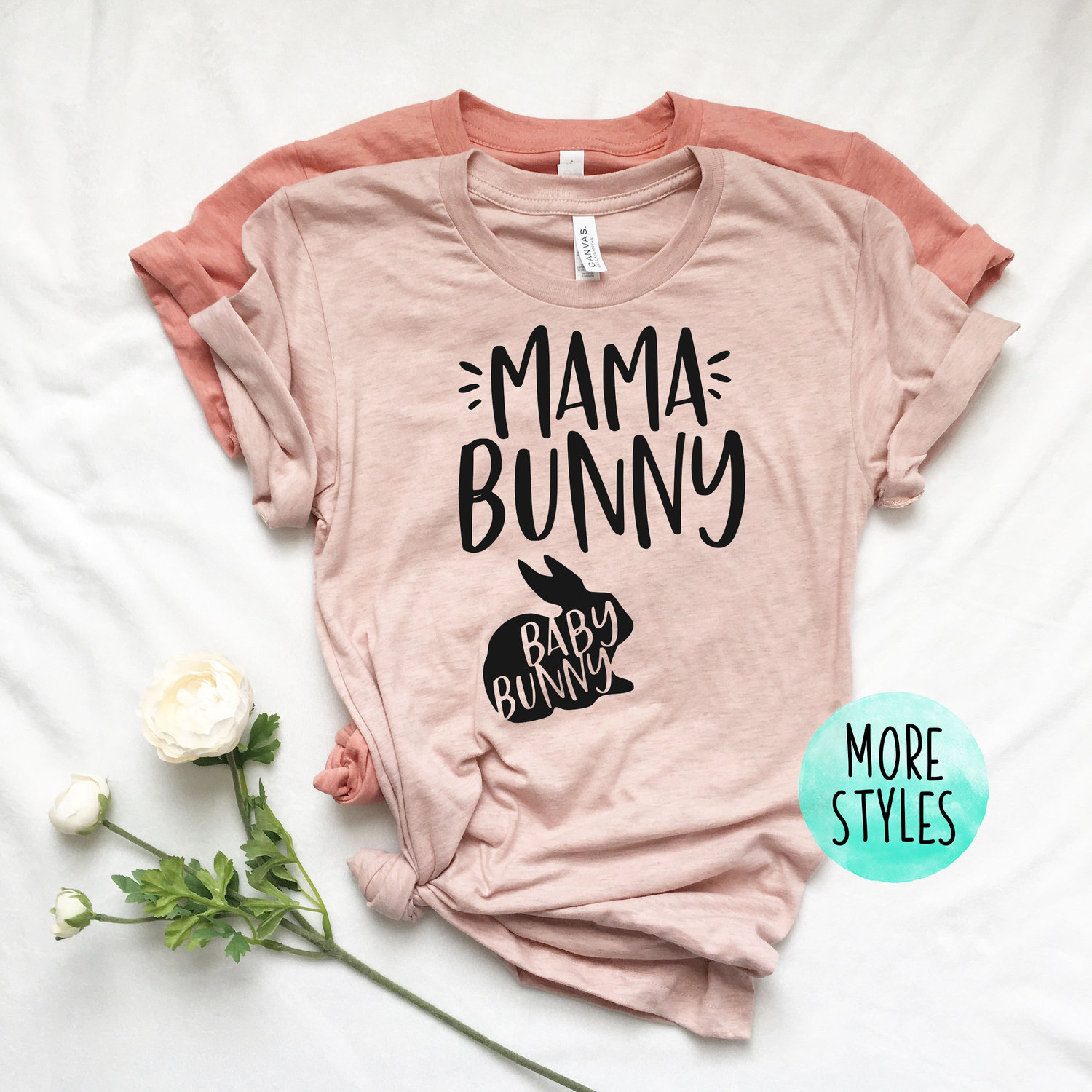 Mama Bunny Funny Easter T-Shirt Women Pregnancy Shirt Mom To Be Pregnancy Shirts Maternity Announcement Tee Shirt