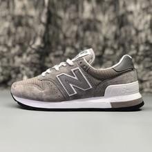 NEW BALANCE NB995 мужская синяя обувь для бадминтона серые уличные кроссовки на шнуровке Нескользящая весенняя обувь для женщин